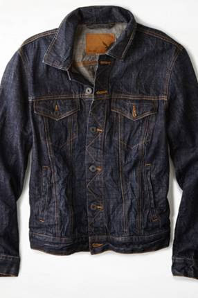 AEO Dark Denim Jacket