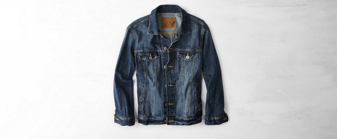 Blue AE Denim Jacket