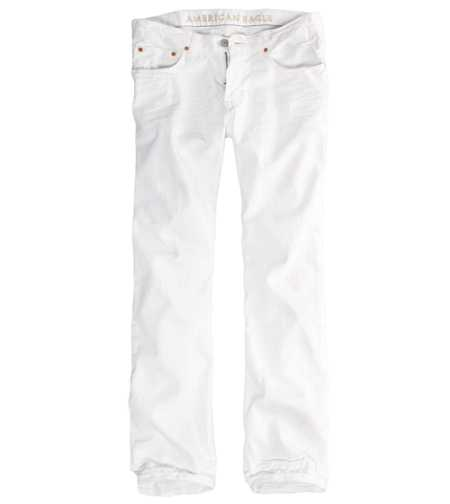 Original Straight Jean - Pure White Wash
