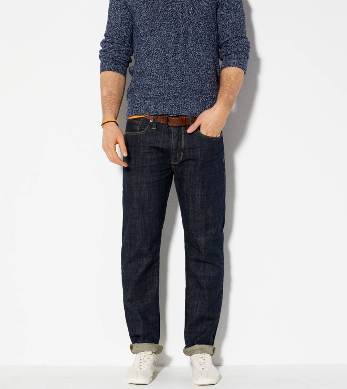 Dark Rinse Relaxed Straight Jean