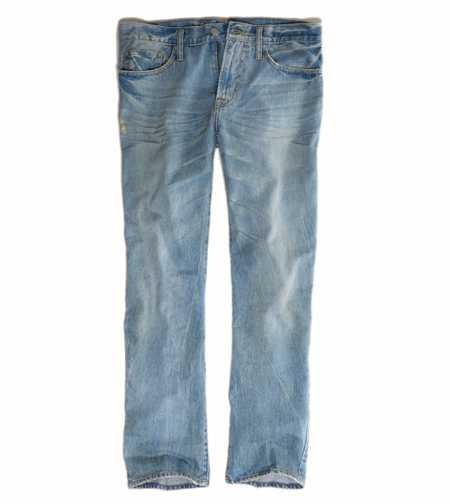 Relaxed Straight Jean - Worn Light Resin