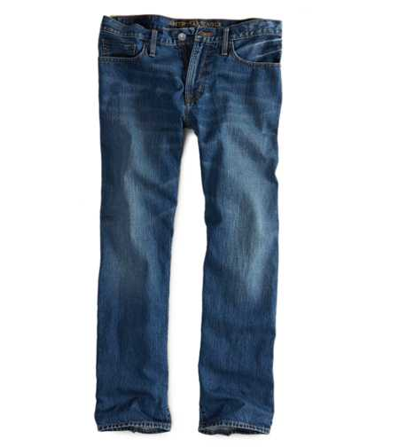 Relaxed Straight Jean - Medium Rugged