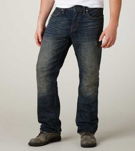 Bootcut Jean - Dark Tinted Resin Wash