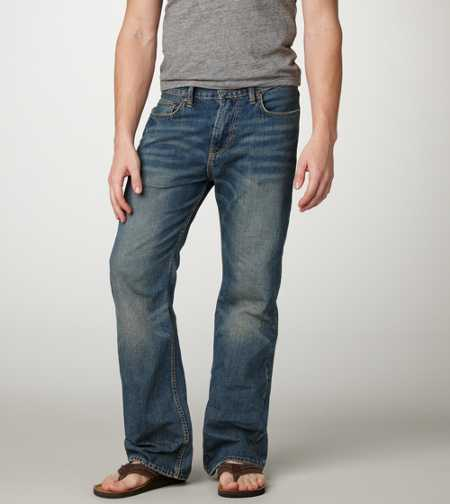 Bootcut Jean - Light Standard Wash