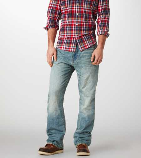 Bootcut Jean - Light Rugged
