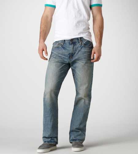 Bootcut Jean - Light Worn In