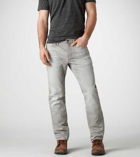 Bootcut Jean - Light Faded Grey
