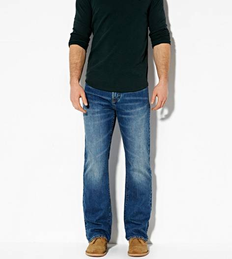 Medium Rugged Classic Bootcut Jean