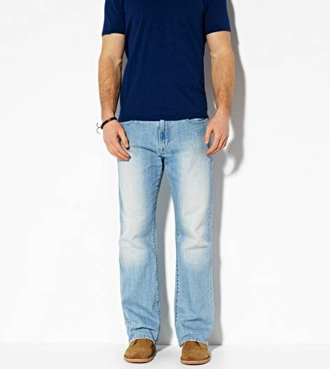 Light Faded Indigo Classic Bootcut Jean