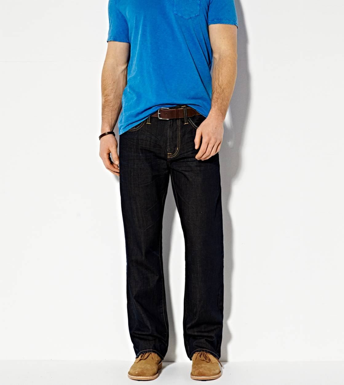 Dark Rich Resin Classic Bootcut Jean