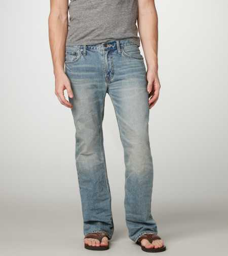 Low Rise Boot Jean - Light Tinted Wash