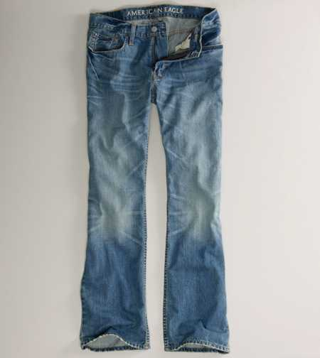 Low Rise Boot Jean - Medium Authentic Sandy
