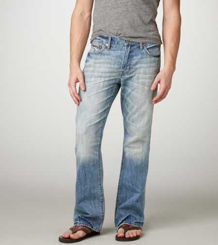 Low Rise Boot Jean - Light Destroy Wash