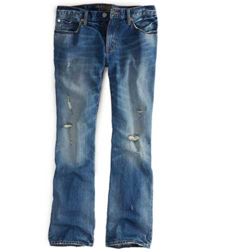 Original Boot Jean - Medium Rugged Destroy