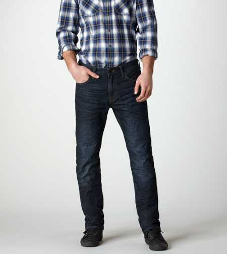 Slim Straight Jean - Dark Brentwood