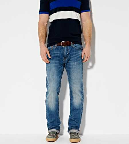 Slim Straight Jean - Medium Indigo