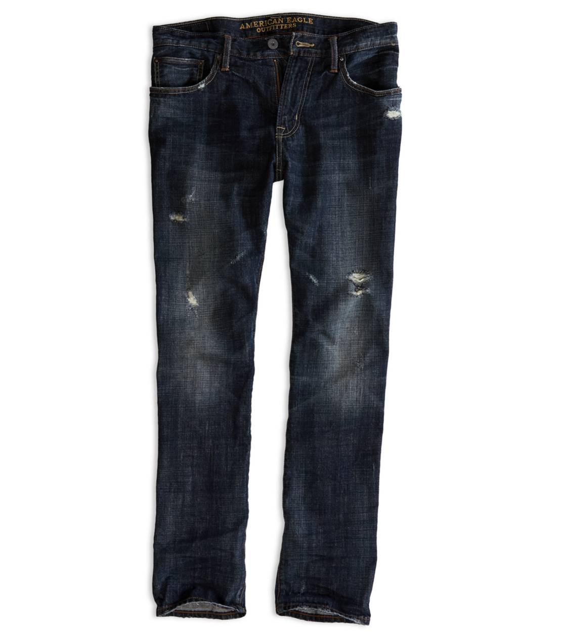Dark Destroy Slim Straight Jean
