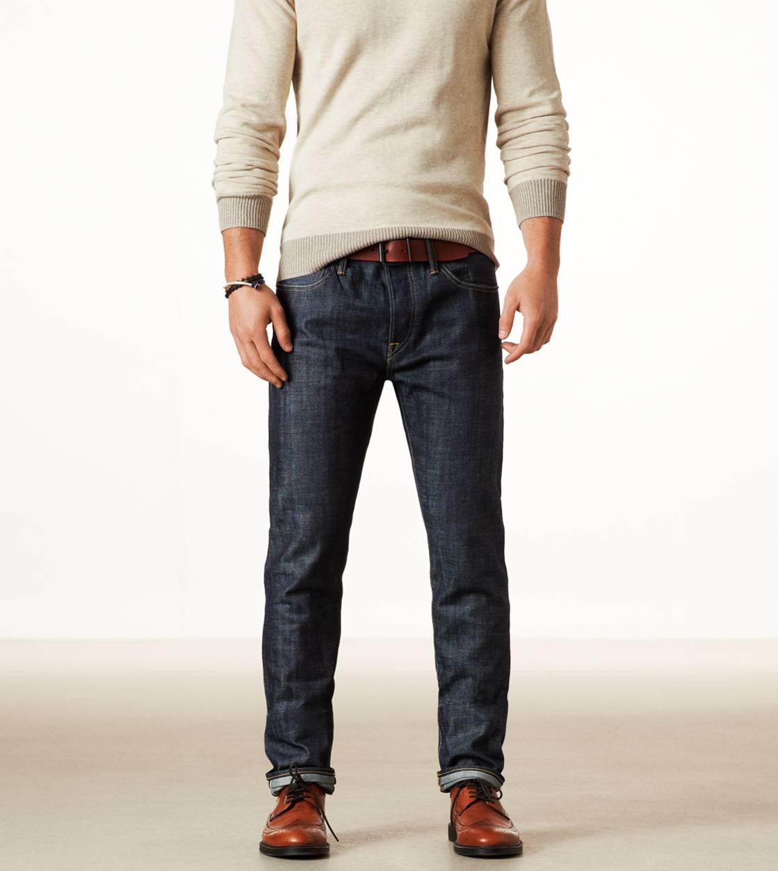 Selvage Raw Premium Slim Jean