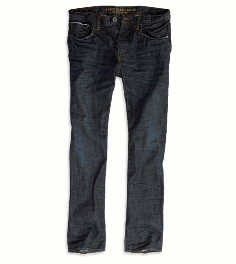 Dark Clean Vintage Premium Slim Straight Jean