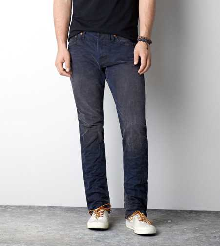 Slim Straight Jean - Dark Pigment Wash