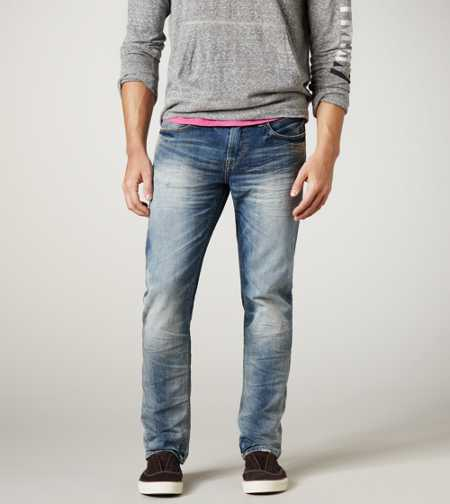 Skinny Jean - Light Rugged Worn