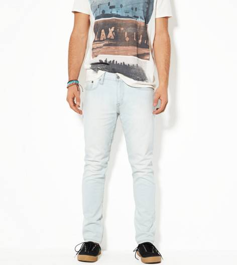 Light Ultra Bleach Skinny Jean