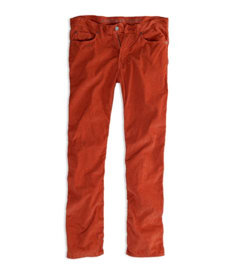 Orange Felt AEO Original Straight Corduroy Pant