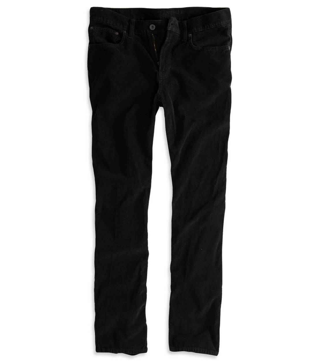 True Black AE Slim Straight Corduroy Pant