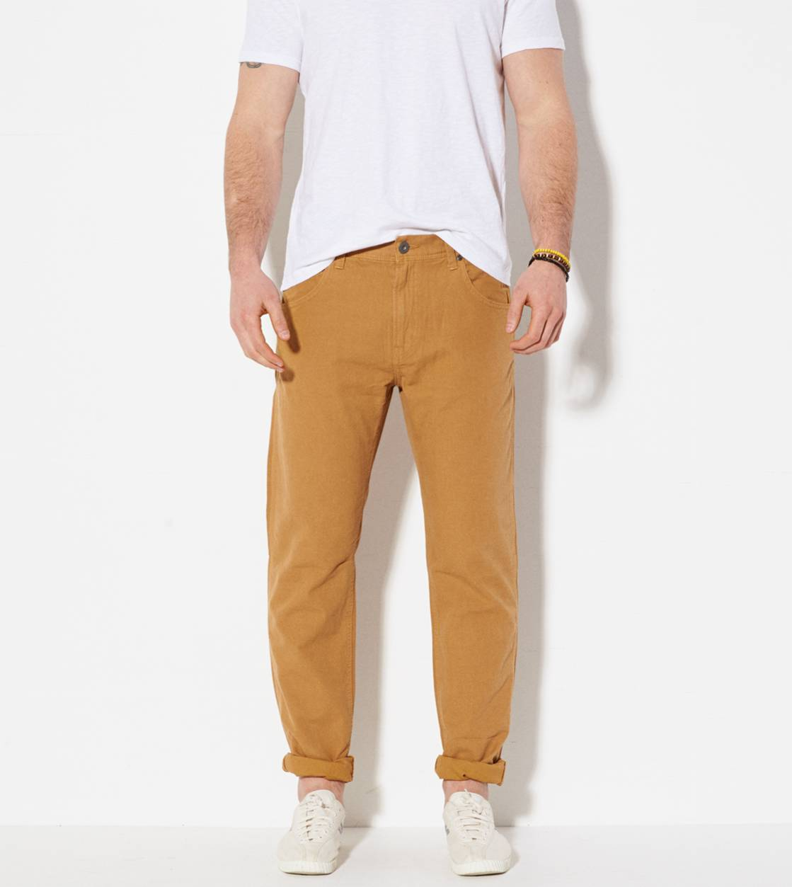 Ginger Khaki AE Workwear 5-Pocket Pant