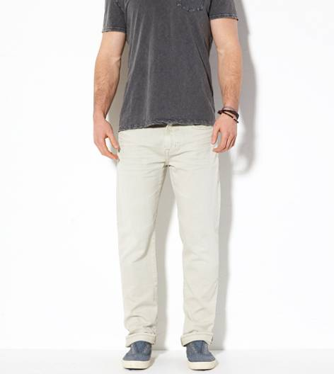 Shell Grey AE Original Straight Jean