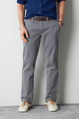 American Eagle Khaki Pants For Men ~ Leather Sandals
