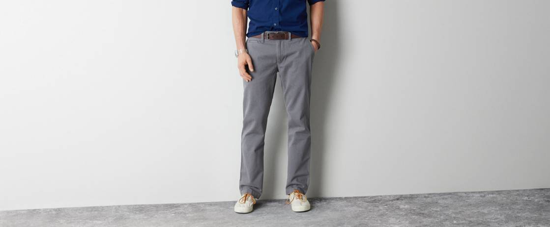 Grey Road AE Relaxed Straight Khaki