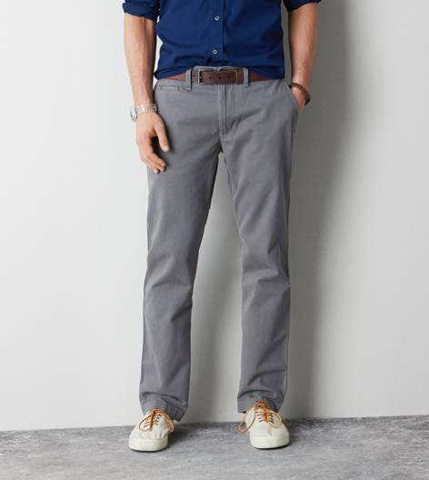 Grey Road AEO Relaxed Straight Khaki