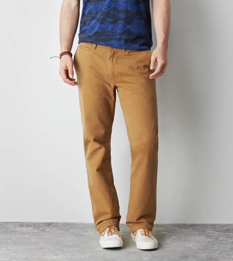 Honey AEO Relaxed Straight Khaki