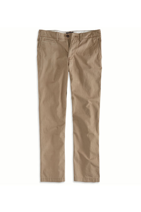 AE Relaxed Straight Khaki