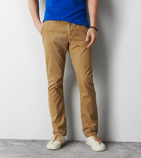 Honey AEO Skinny Khaki