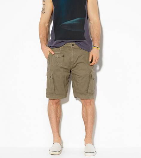 Shooting Olive AE Camp Cargo Short