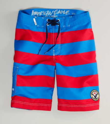 AE Striped Board Short
