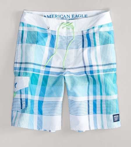 AE Plaid Board Short - Take 40% Off