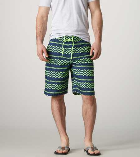 AE Zig Zag Board Short - Take 40% Off