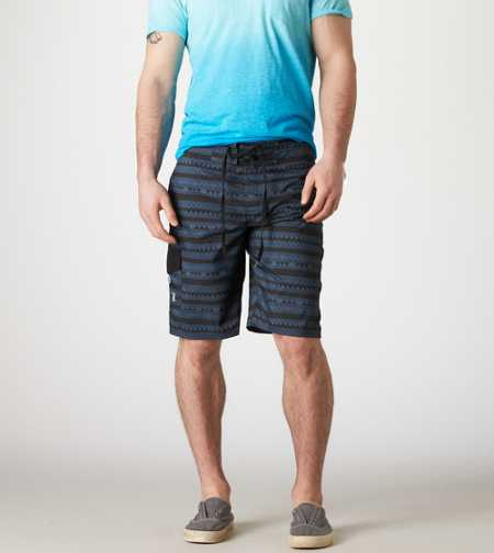 AE Triangle Stripe Board Short