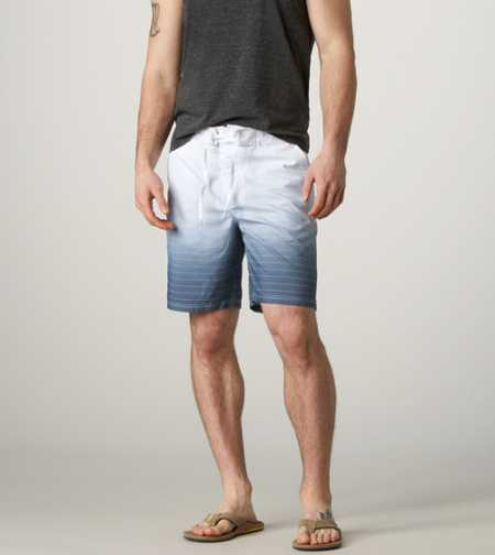 AE Ombre Striped Board Short - Take 40% Off