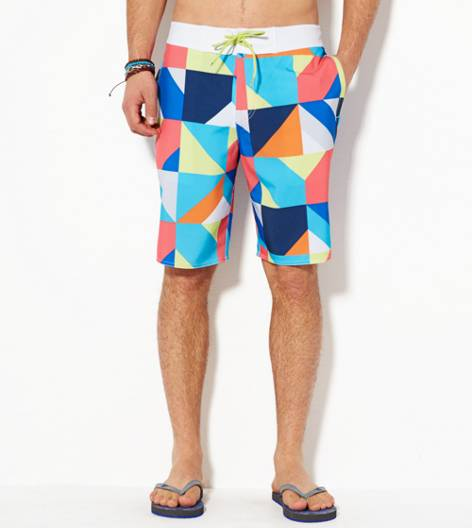 Multi AEO Colorblock Board Short