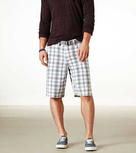 AE Longer Length Plaid Short