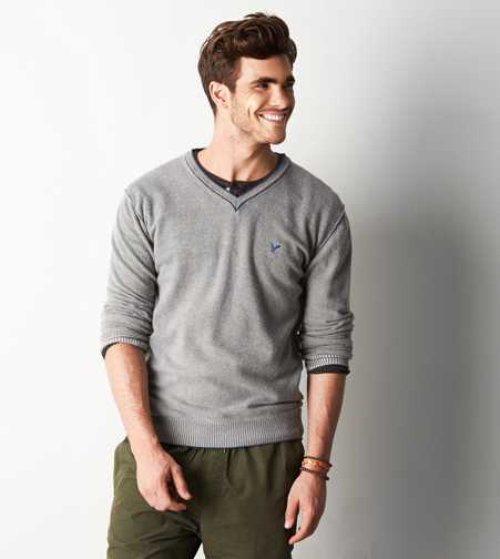 AEO Wool V-Neck Sweater - Buy One Get One 50% Off