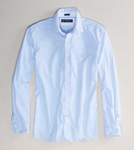 AE Premium Striped Button-Down - Slim Fit