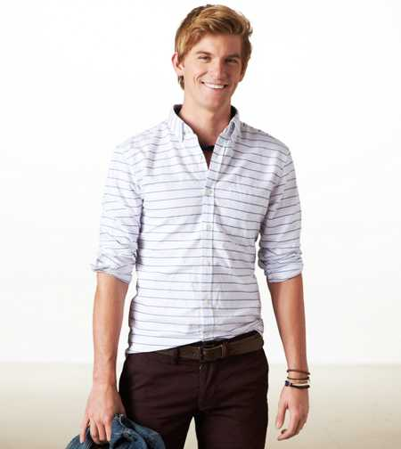 AE Oxford Button-Down - Athleic Fit