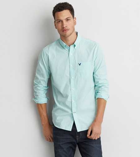 AEO Micro Stripe Shirt  - Buy One Get One 50% Off