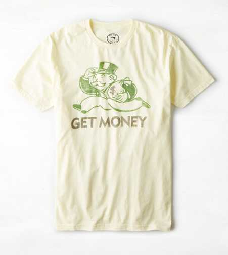 Get Money Graphic T-Shirt - Buy One Get One 50% Off