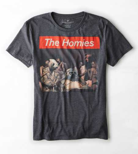 AEO The Homies Graphic T-Shirt - Buy One Get One 50% Off